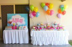 Colorful Lalaloopsy birthday party via Kara's Party Ideas -www.KarasPartyIdeas.com