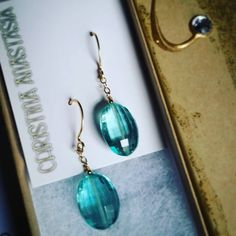 These #custom #semiprecious #stone & #gold beauties are a #beloveds #birthday #gift <3