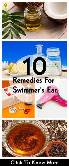 Your idea of fun by splashing water at the beach may take a backseat with a painful ear infection called as swimmer's ear. Check out these effective home remedies to find relief Ear Pain Remedies, Clogged Ear Remedy, Clogged Ears, Ear Infection Remedy, Natural Headache Remedies, Home Remedies, Swimmers Ear Home Remedy, Swimmers Ear Drops, Water In Ear Remedy