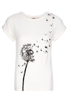 Louche Dandelion T-Shirt - Tops - Clothing - Womenswear