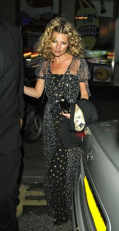 Kate Moss Style Icon Chanel stars dress....