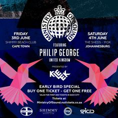 On Friday 3 June Shimmy Beach Club will play host to one of the world's most iconic dance music brands, 'Ministry Of Sound'. Get One, How To Get, Ministry Of Sound, One Ticket, Event Calendar, Beach Club, Dance Music, June, Friday