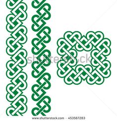Celtic Irish knots, braids and patterns – celtic – Home crafts Celtic Symbols, Celtic Art, Mayan Symbols, Egyptian Symbols, Ancient Symbols, Islamic Art Pattern, Pattern Art, Celtic Braid, Celtic Knots