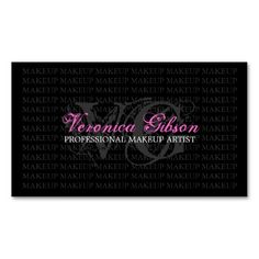 330 best makeup artist business card templates images on pinterest makeup artist business card accmission Images