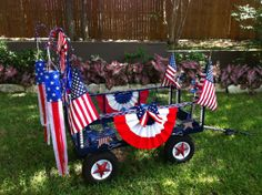 4th of July Wagon
