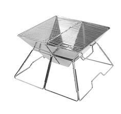 Wealers Compact Folding 16 Inch Charcoal BBQ Grill Made From Stainless Steel. Portable and Great for Camping, Picnics, Backpacking, Backyards, Survival, Emergency Preparation. - READ MORE @ http://www.usefulcampingideas.com/store/wealers-compact-folding-16-inch-charcoal-bbq-grill-made-from-stainless-steel-portable-and-great-for-camping-picnics-backpacking-backyards-survival-emergency-preparation/?a=3396