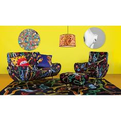 Seletti Sofa Pop Art Furniture With Lipstick, Kitten Teeth Shit and Snakes in Velvet Material by Seletti Wears Toiletpaper at Smithers of Stamford Dealer Store Uk Seller of Art Furniture Care, Contract Furniture, Furniture Design, Velvet Furniture, Retro Armchair, Retro Sofa, Italian Furniture Brands, Luxury Furniture Brands, Mae West