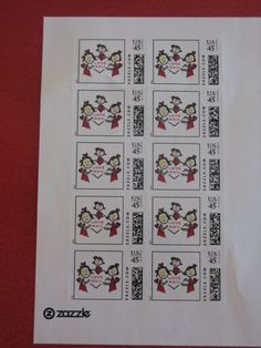 Use Zazzle.com to make your own postage stamps using an image you upload