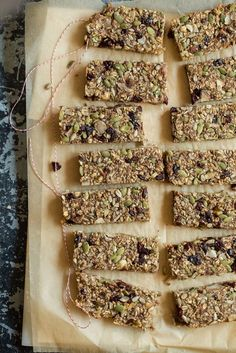 Feel Good Hearty Granola Bars