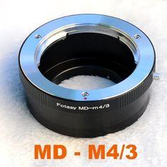 RainbowImaging Minolta MD MC Mount Lens to Micro 4/3 Four Thirds System Camera Mount Adapter, Olympus PEN E-P1 E-P2, Panasonic Lumix DMC-GF1, GH1, G1, MSRP USD24.99