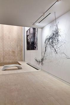 Synapse Straw Installation   Odalisque Bench   NYC Gallery   Pryor Callaway