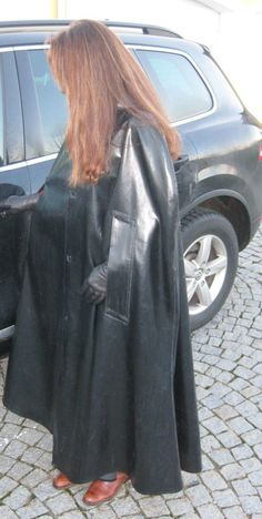 Rain Cape, Rubber Raincoats, Pvc Raincoat, Pvc Coat, Fashion Project, Cape Coat, Future Fashion, Rain Wear, Black Rubber