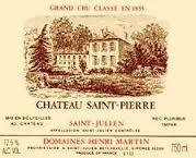 "GrapePip Lot For Charity: 2007 Château Saint Pierre, St Julien. Lot live in December 2014. Opening at £200 in bond a dozen. ""A fabulous wine for the vintage, this well-endowed St.-Julien exhibits a dense purple color in addition to a sweet bouquet of charcoal, burning embers, blackberries, cassis, and a hint of graphite. Dense, full-bodied, and surprisingly concentrated...the wine possesses a suppleness, velvety tannins, and low acidity. Drink it over the next 10-15 years."" Robert Parker"