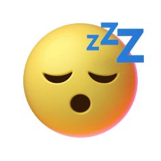 Tired Sleep Sticker by Emoji for iOS & Android Animated Smiley Faces, Funny Emoji Faces, Animated Emoticons, Funny Emoticons, Animated Icons, Smiley Emoji, Kiss Emoji, Emoji Images, Emoji Pictures