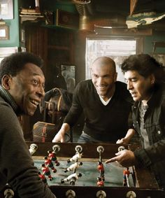 football time!!.... pele, zidane, maradona