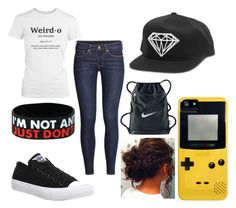 """""""Keepin it Cool"""" by marvelteen14 ❤ liked on Polyvore featuring H&M, Converse, Dot & Bo and NIKE"""