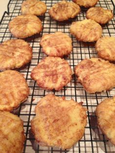Coconut Flour Snickerdoodles - Powered by @ultimaterecipe Gonna try to make these with Stevia :)