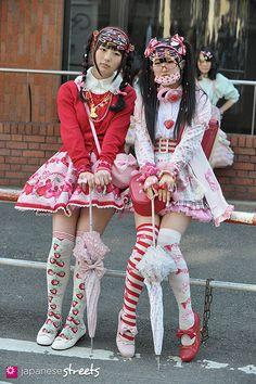 MAHEKI & KOTO Harajuku, Tokyo SPRING 2014, GIRLS Kjeld Duits STUDENTS, 17 & 15