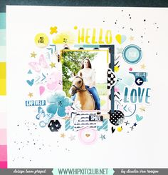 Hello everyone! It's Claudia here with you and today I am sharing the second layout I made with the August 2016 Kits. If you missed my first post, see here. I absolutely love these kits and f…