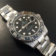 Grab a bargain #preowned Rolex GMT-Master II  Available now - click for details