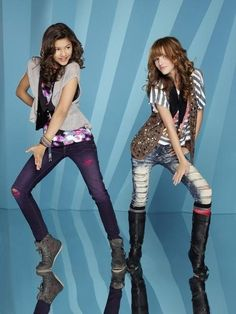 Bella Thorne -Cece Jones and Zendaya Colmen -Rocky Blue From Shake iT Up!