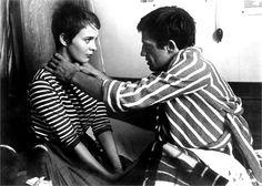 Fino all'ultimo Respiro -   Jean Seberg, Jean-Paul Belmondo, 1960  ©Everett Collection