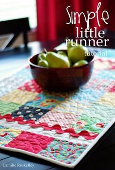 Moda Bake Shop: Simple Little Runner