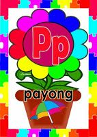 Alpabetong Filipino - P Classroom Charts, Classroom Bulletin Boards, Classroom Design, Classroom Decor, Origami Butterfly, English Reading, First Grade Reading, Reading Passages, Reading Material