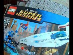 Lego DC Comics Darkseid invasion invasão Super Homem Arqueiro Verde Home...