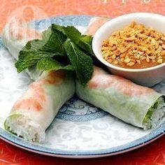Vietnamese lenterolletjes @ allrecipes.nl
