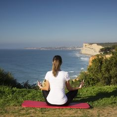 Find your inner peace with a session of yoga.