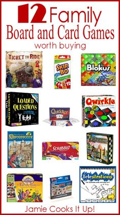 Board & Family Game Suggestions