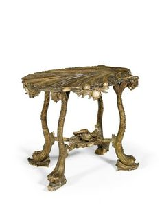 A SUITE OF GROTTO FURNITURE (1850 To 1900 Venice)