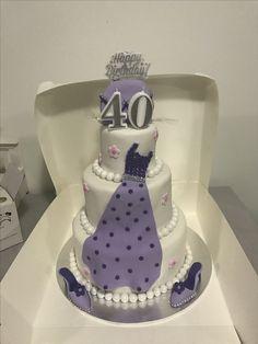 40th birthday surprise cake #mkcakesandsweets