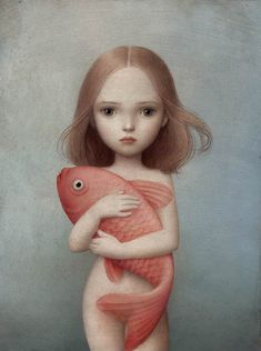 Nicoletta Ceccoli, Lorelei - Sweet & Low Exhibition