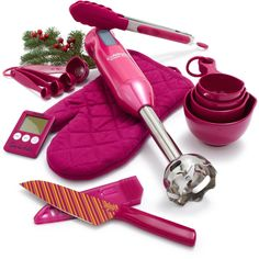 Pink Essentials Gift Set - perfect for a housewarming gift! I so want this