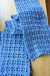 Ravelry: Reversible Rib and Lace Scarf pattern by Susan B. Knitting Blogs, Lace Knitting, Knitting Projects, Knitting Patterns, Sewing Projects, Crochet Scarves, Knit Crochet, Sewing Hacks, Sewing Tips