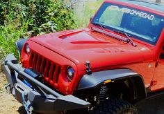 DV8 Offroad Fiberglass Hood Dome vented special edition design paintable For 2007 - 2015 Jeep Wrangler all models. - Better Engine Cooling - Works in Conjunction with Inner Fenders - Aggressive Design