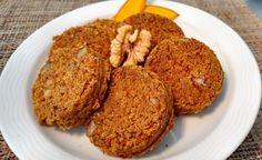Kürbiskuchentaler mit Walnüssen -> https://www.zentrum-der-gesundheit.de/kuerbiskuchentaler-mit-walnuessen.html #rezept #vegan #gesundheit #kürbis