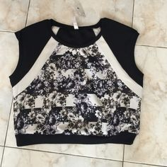 """Selling this """" Beautiful crop top"""" in my Poshmark closet! My username is: oops623. #shopmycloset #poshmark #fashion #shopping #style #forsale #Xhilaration #Tops"""