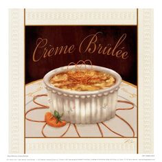 Creme Brulee at Marshall Fields Restaurant....a table by the window with the penny in it ♥♡♥