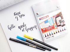 Die Kunst des schönen Schreibens wird immer beliebter! Deshalb verrate euch heute, wo ihr online kostenlos Hand Lettering lernen könnt.