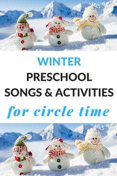 Winter Preschool Songs and Activities