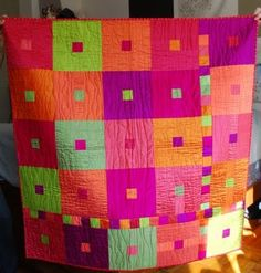 A great design for a baby blanket