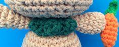 La Carmelita Amigurumi: Mr. Rabbit Amigurumi. Free Pattern Elsa, Free Pattern, Crochet Necklace, Rabbit, Crochet Patterns, Bunny, Diy And Crafts, Magic Ring, Crochet Dolls