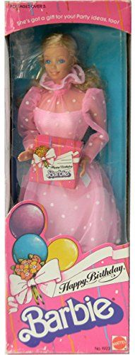 Birthday Wishes Barbie doll 2015 | Barbie Dolls, eclectic ...