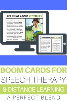 I'm sharing tips and ideas for how you can implement Boom Cards with your speech therapy elementary students! I'm also including how-to's for getting started and ways they can be implemented while distance learning or in the classroom! This is a great interactive way for your students to learn and self-assess!