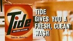 The washing powder of choice in our household. Tv Adverts, Tv Ads, Tide Laundry Detergent, Fresh And Clean, Tv Commercials, Classic Tv, Childhood Memories, Cleaning, Chrysler 300