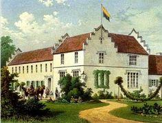 La dimora di Elizabeth von Armin con il suo amato giardino