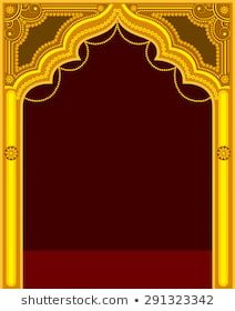 Golden Temple Door Frame Banner Background Images Photo Frame Design Birthday Background Images